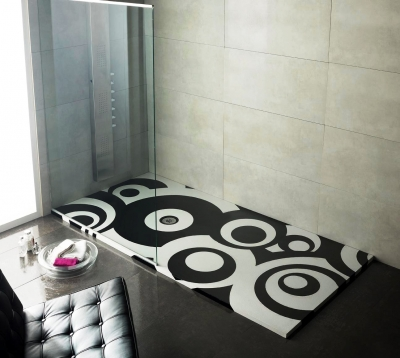 Plato ducha decorativo